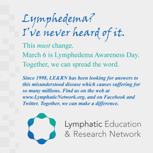 That Dude has Lymphedema!?! – Dudes get Lymphedema too!